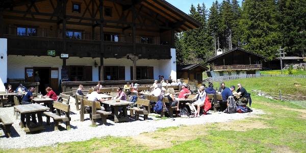 Ausdauernde MTB-Tour zur Seespitz mit Schwarzer Lacke am Vigiljoch.