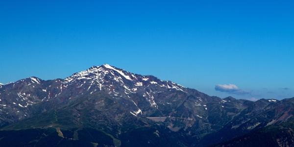 Bei dieser langen Bergtour wird das Hasenohr von der Marteller Seite aus bestiegen.