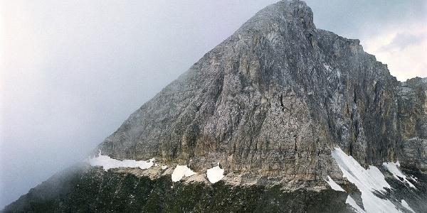 The Parete Bianca mountain near Fleres.