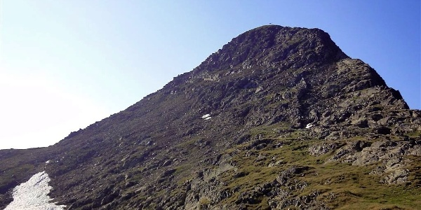 The Riepen peak in Gsieser valley