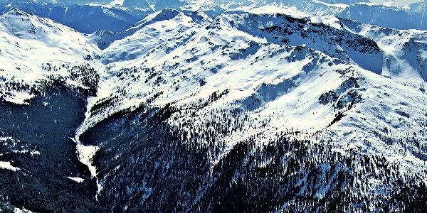 Die Kassianspitze im Sarntal, Bildmitte