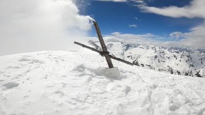 Gipfel des Hohen Tenn