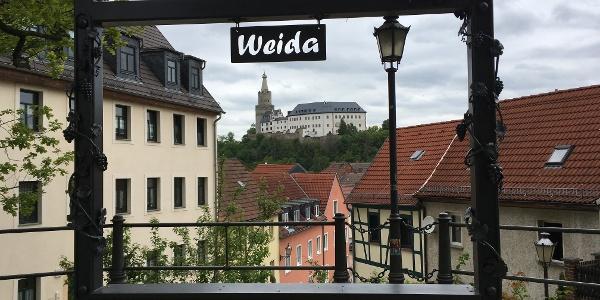 Weida Selfiepoint Widenkirche