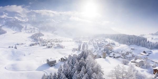 Parpan im Winter
