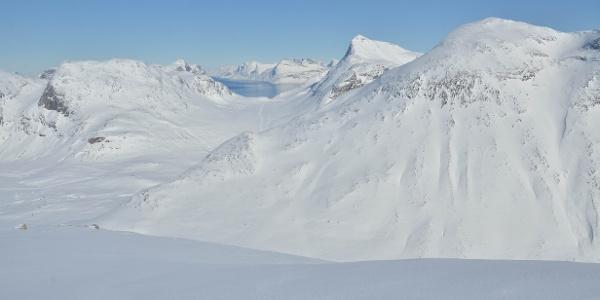 Kobbefjord hike/ski-tour 1. Photo by Jakob Abermann