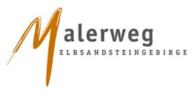 Foto Logo Malerweg Elbsandsteingebirge