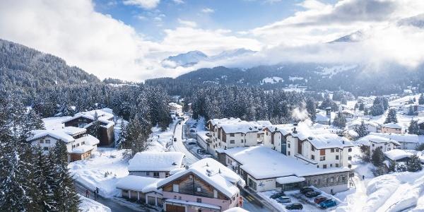 Valbella im Winter
