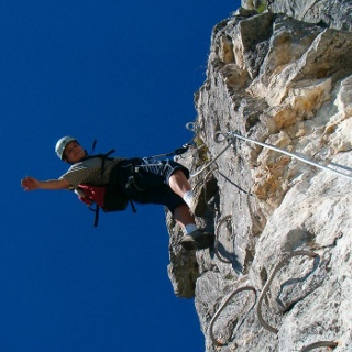 Via Ferrata Moléson.