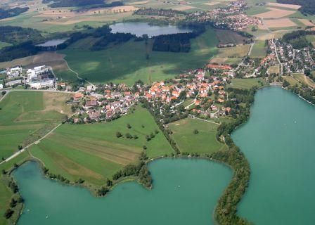 Fahrrad-Tour Ausflug ins Drei-Seen-Gebiet