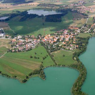 Luftbild Illmensee