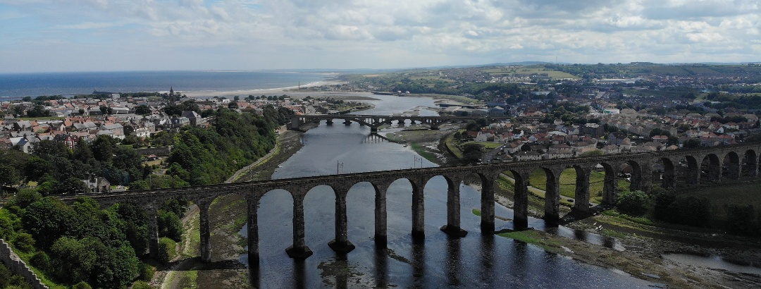 Views of Royal Border Bridge