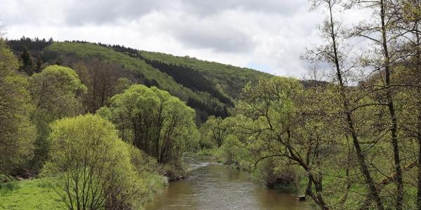 Blick von der George-Wagner-Brücke