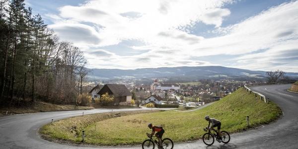 Rennradfahren in der Oststeiermark