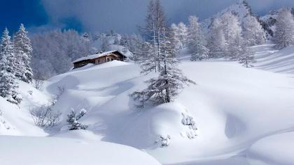 Das Schneibsteinhaus ist im Winter geschlossen.