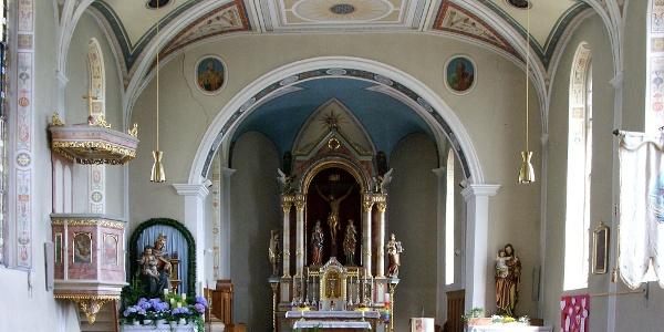 Langen bei Bregenz, Katholische Pfarrkirche Heiliger Sebastian 2
