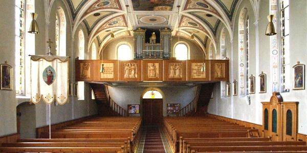 Langen bei Bregenz, Katholische Pfarrkirche Heiliger Sebastian 3