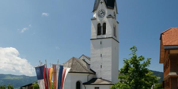 Lingenau, Katholische Pfarrkirche Heiliger Johannes der Täufer 1