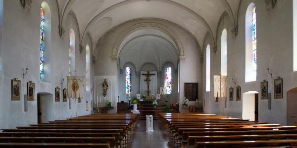 Lingenau, Katholische Pfarrkirche Heiliger Johannes der Täufer 3