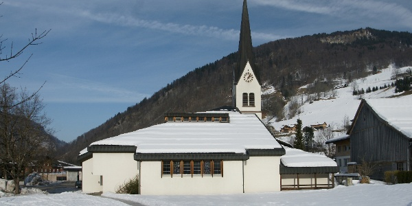 Mellau, Katholische Pfarrkirche Heiliger Antonius Eremit