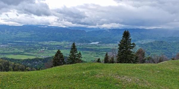 Panorama z Zabreške planine