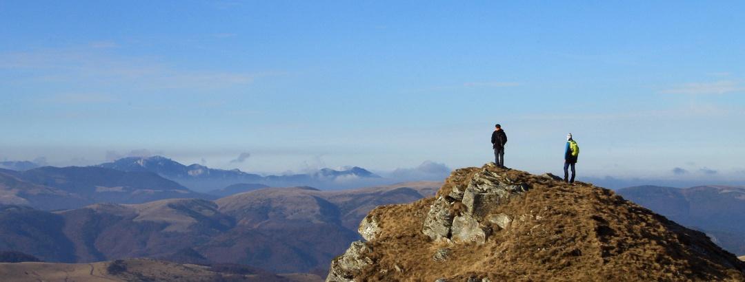 Traseu din Munții Grohotiș