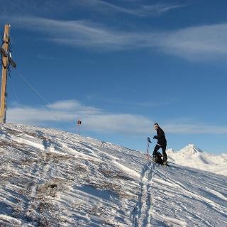 Gipfel vom Sattelberg