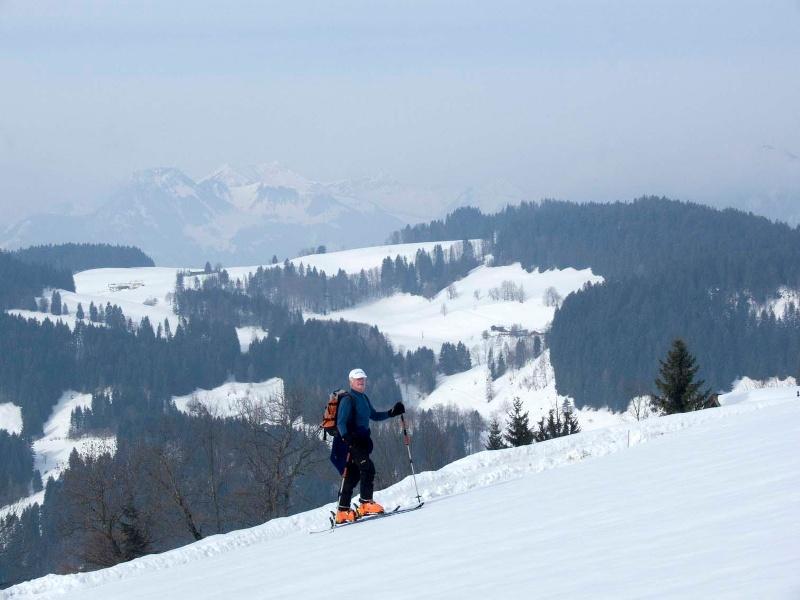 Wandberg - Skiausflug bei Sachrang im Chiemgau