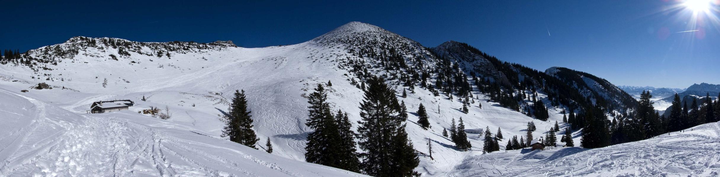 Geigelstein - der Skitourenklassiker des Chiemgaus