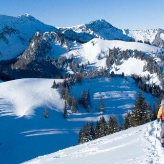 Bald ist die freie Gipfelkuppe erreicht.