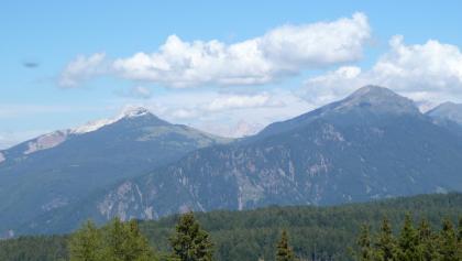 Jochgrimm zwischen Weißhorn und Schwarzhorn