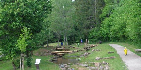 Wasserspielplatz Erzgrube