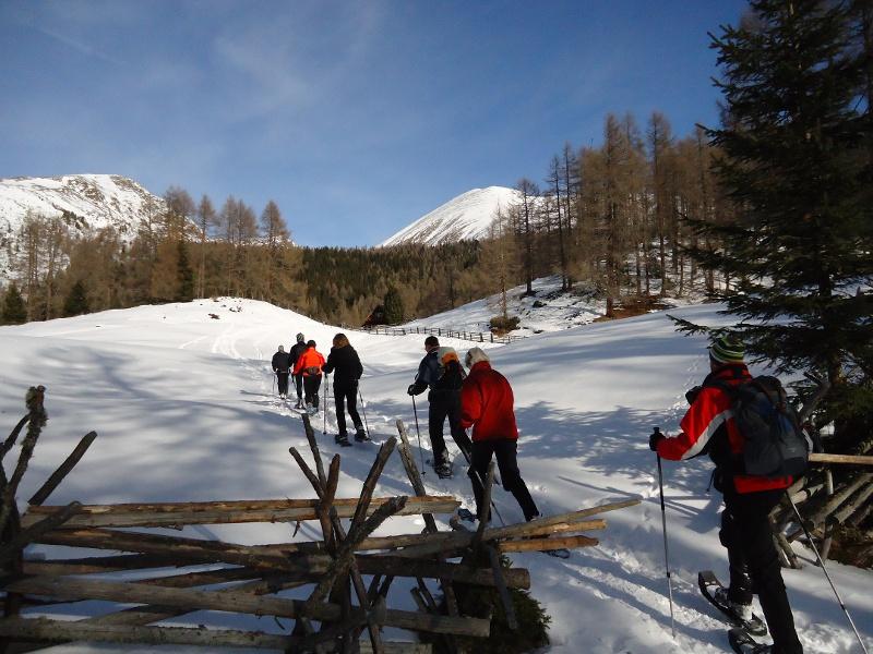 Preber Schneeschuhtour