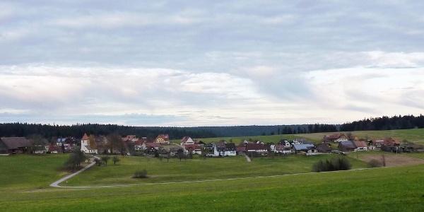 Panoramablick auf Igelsberg