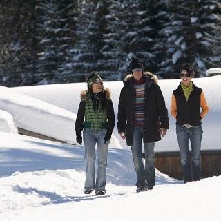 Winterwandern im Klostertal
