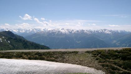 Blick von der Wiedersberger Horn Hütte