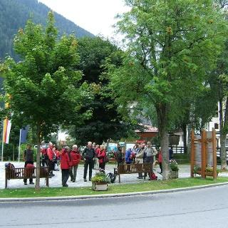 Nationalpark Wanderbus Haltestelle Mallnitz Ort