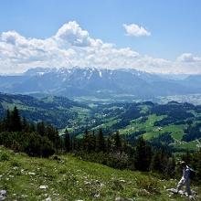 Kaiser-Blick vom Gipfel