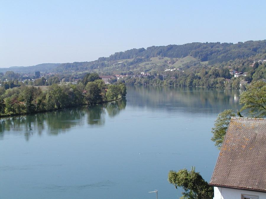 Waldshut Blick auf den Rhein