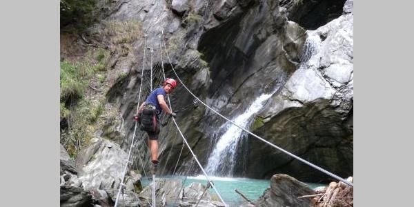Möllschlucht-Klettersteig bei Heiligenblut