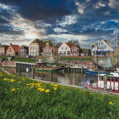 Wandern in Greetsiel / Ostfriesland in Niedersachsen