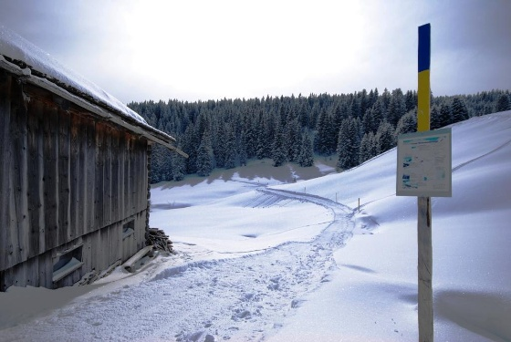 Winterwanderweg Güfer