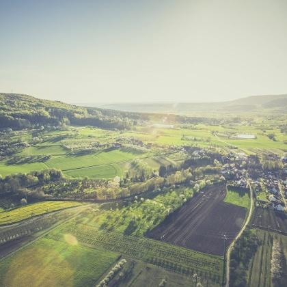 Das Walberla in der fränkischen Schweiz
