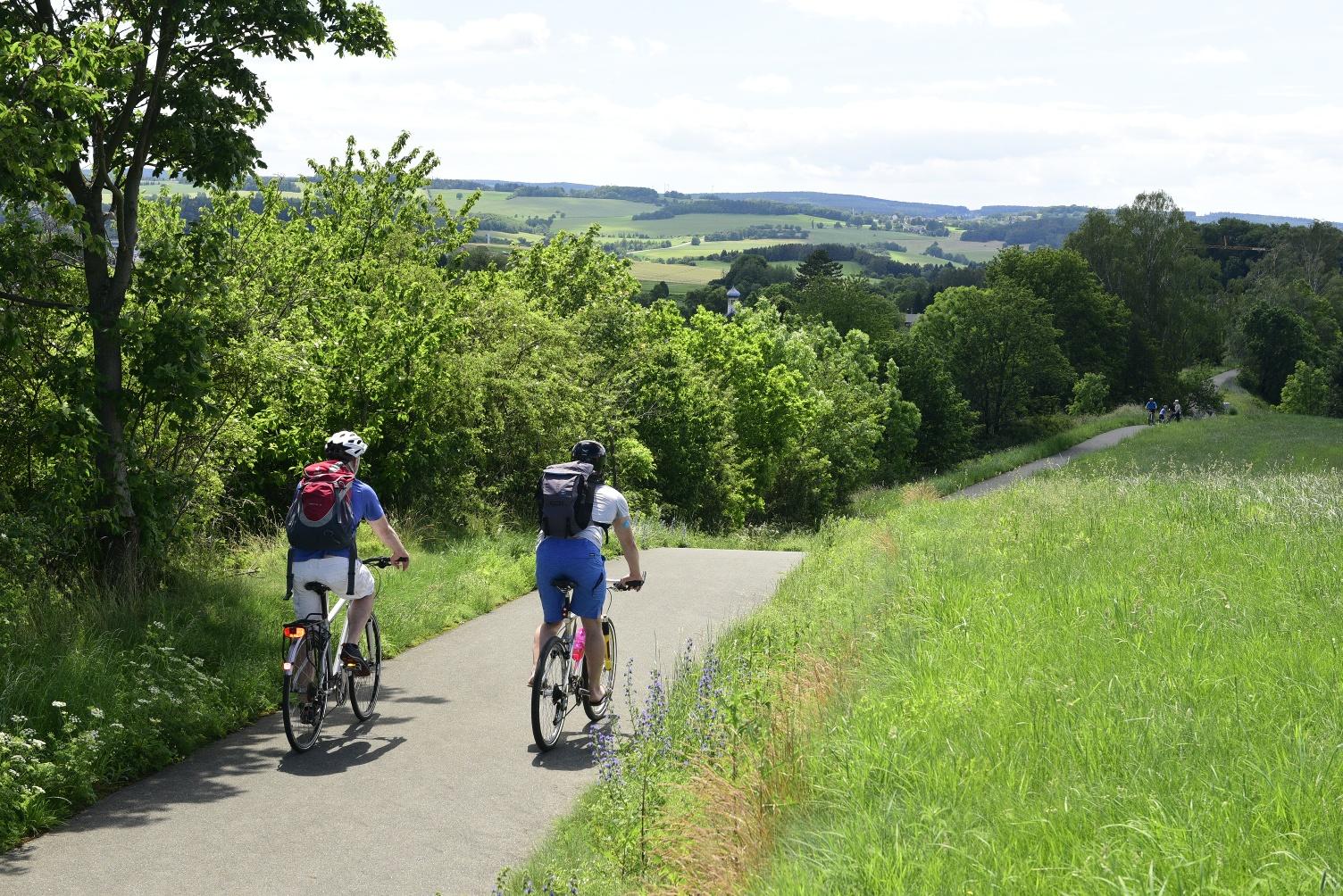 Radweg Oelsnitz - Falkenstein