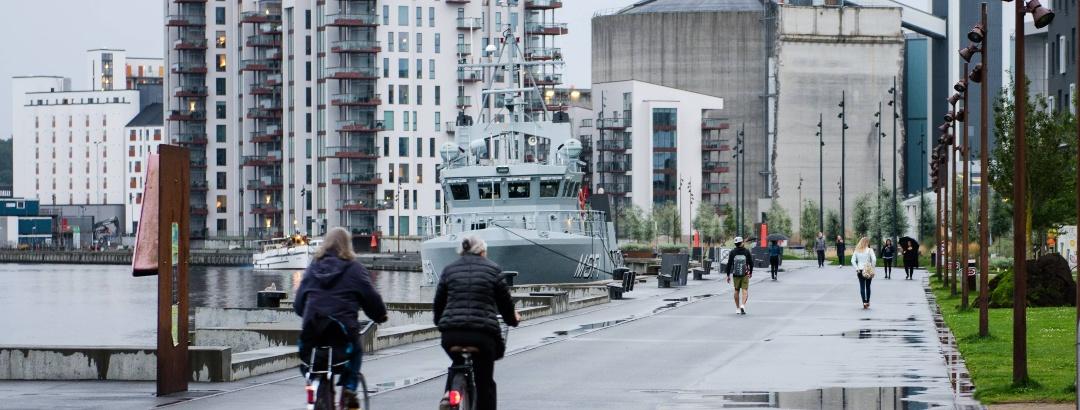 Radfahren rund um Hamburg