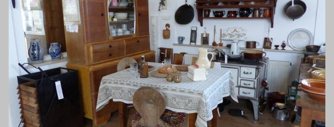 Küche im Heimatmuseum Neustetten