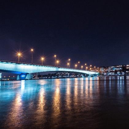 Johanniterbrücke in Basel
