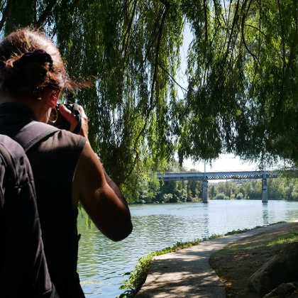 Randonnée sur les bords de Seine