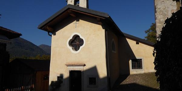 La chiesetta di San Giobbe a Piazzole