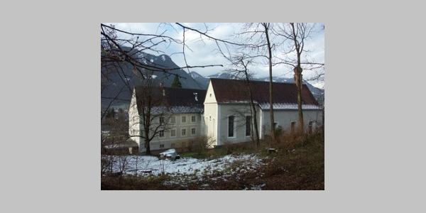 Bludenz, Dominikanerinnenkloster Sankt Peter, Kirche und Wirtschaftsgebäude 2