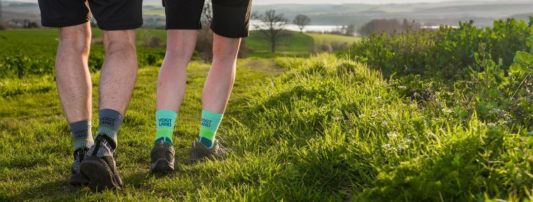 Vogtland Outdoor Socken Header